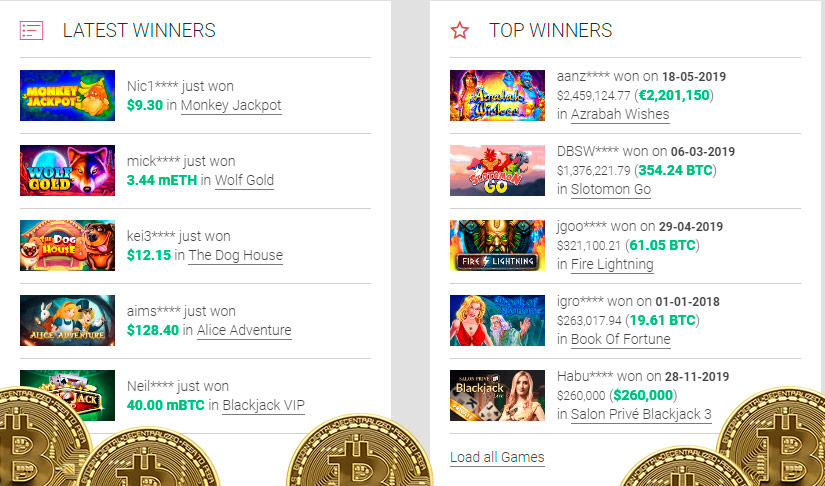 Best bitcoin slot leovegas